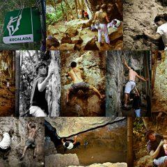 Escalada en las Cuevas de El Indio, adrenalina pura