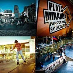 Parque de Patineteros, Plaza Miranda, de todo para todos