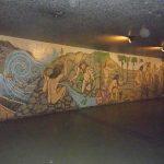 Cesar Rengifo El mito de Amalivaca mural Centro Simón Bolívar