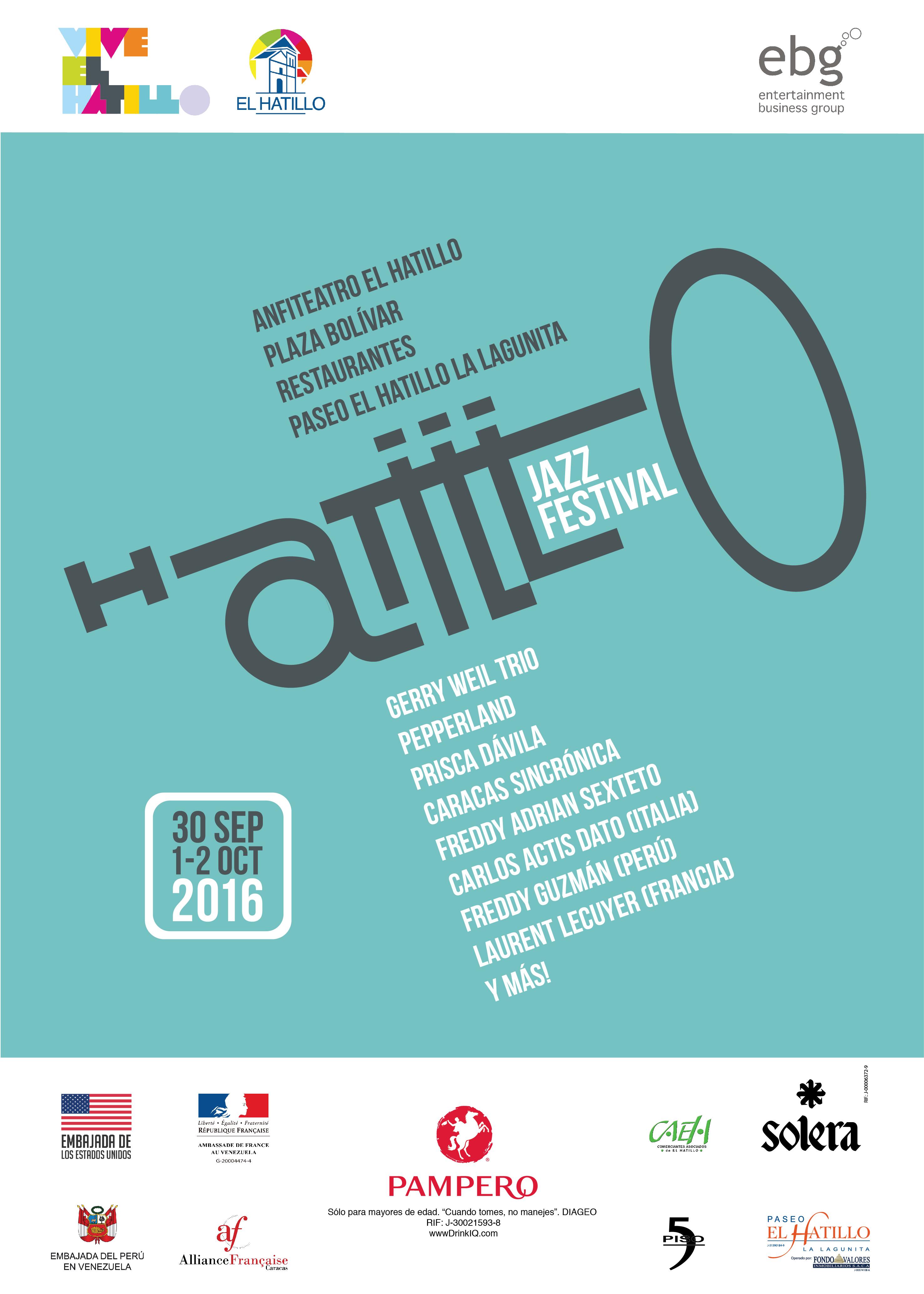 Tenemos Hatillo Jazz Festival en el 2016