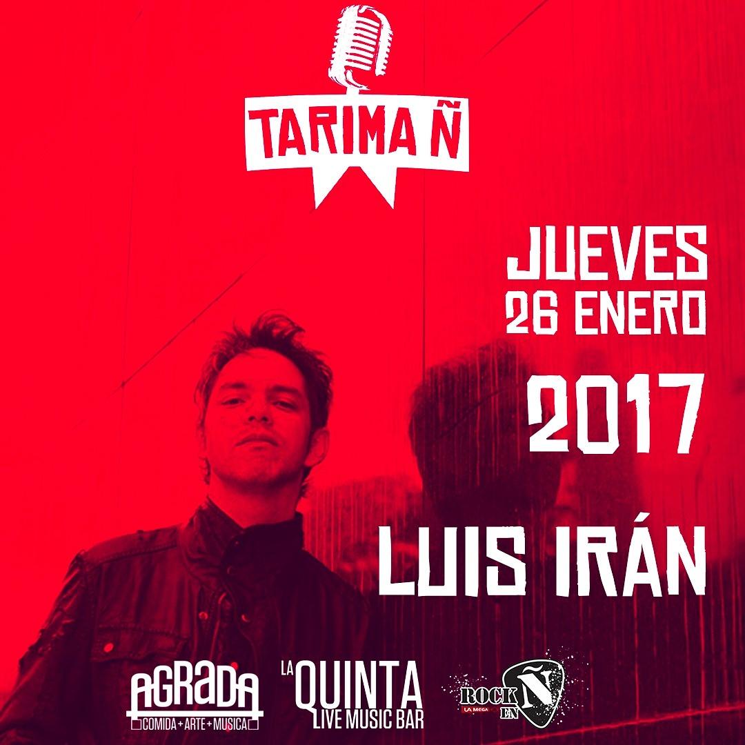 Tenemos Tarima Ñ en La Quinta Live Music Bar