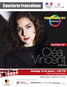 Concierto Cléa Vincent