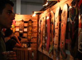 Patinetas itinerantes llegan al Museo Cruz-Diez con la muestra 'Trestablas' de Pigmento Criollo