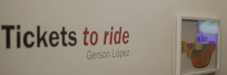 """Gerson López revive la Beatlemanía con la expo """"Tickets To Ride"""""""