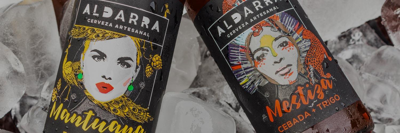La cerveza artesanal Aldarra presentó 'Mantuana' y 'Mestiza'