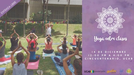 Yoga entre clases
