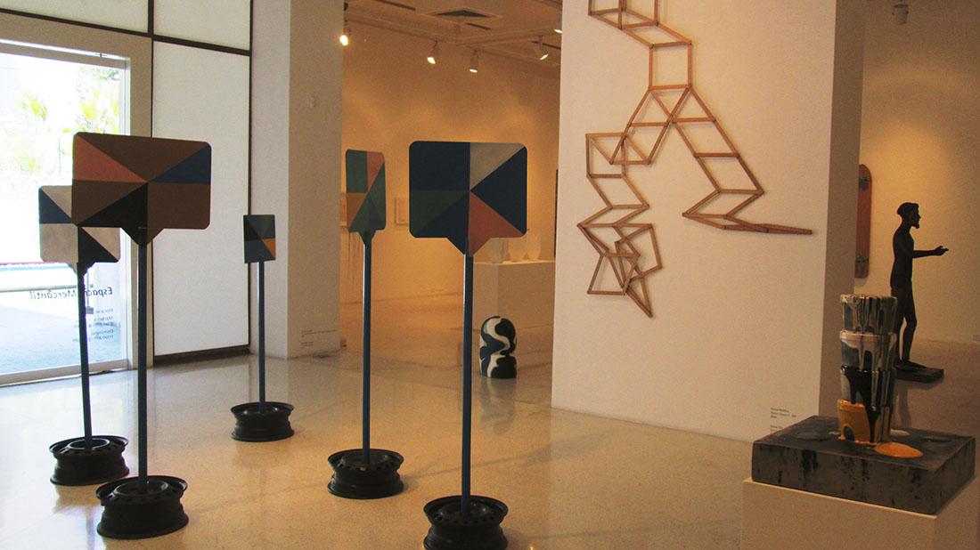 Nociones del espacio, exposición de la colección mercantil