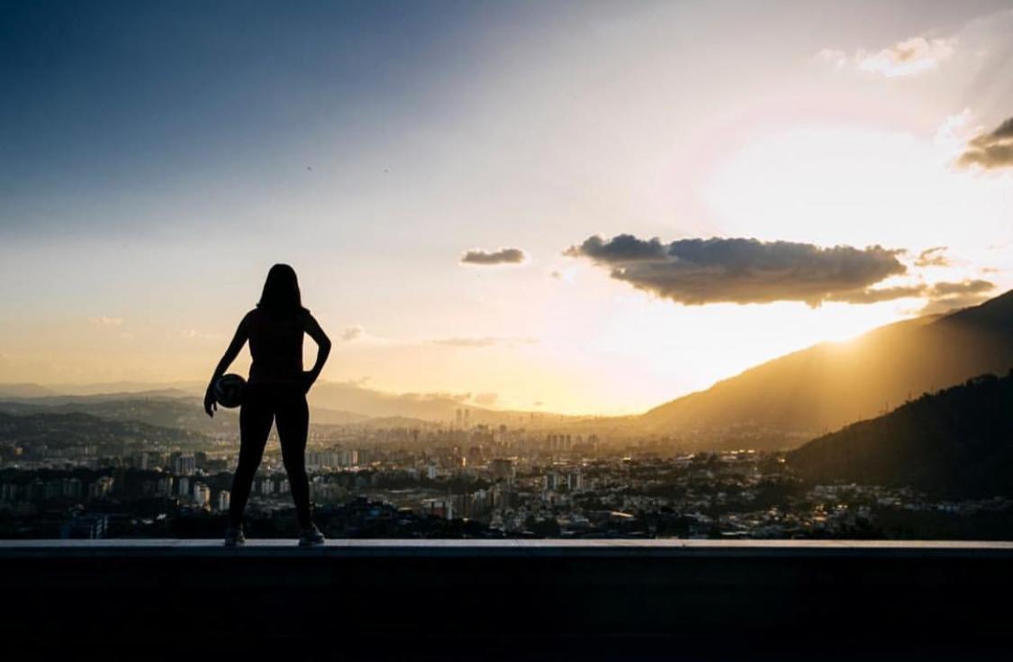 """Verónica Herrera: """"Caracas es mi casa"""""""