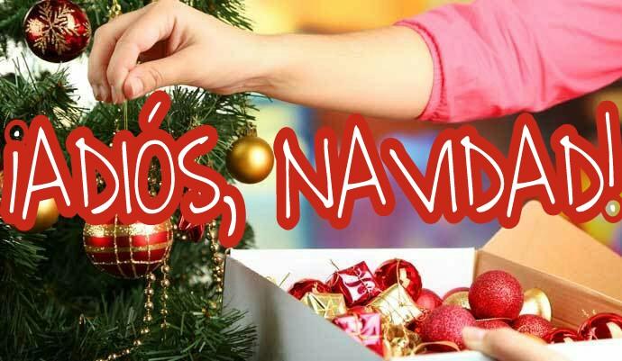 ¿Hoy, Día de la Virgen Candelaria, es oficialmente la retirada de la navidad?