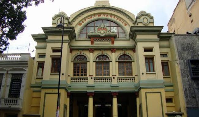 Monumentos Clásicos de Caracas: Teatro Ayacucho